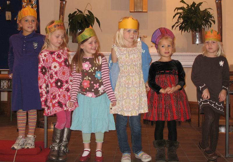Church School class in St. George's Chapel
