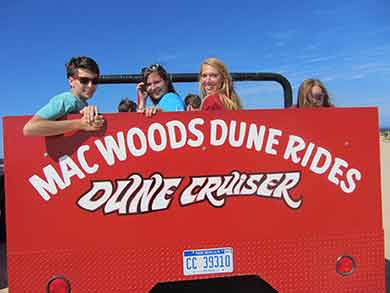 dune buggy and missioners