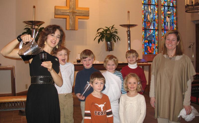 Church School skit
