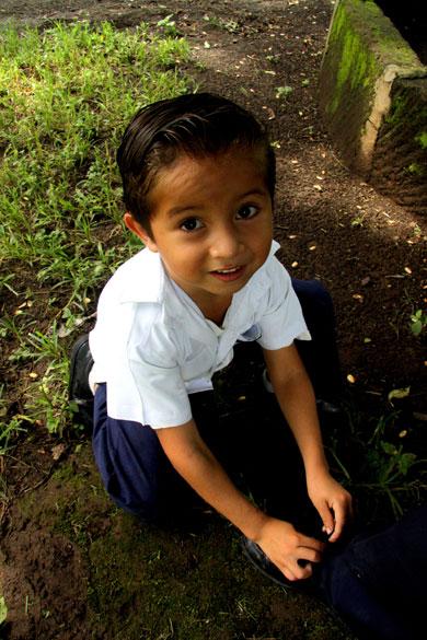 Nicaraguan boy