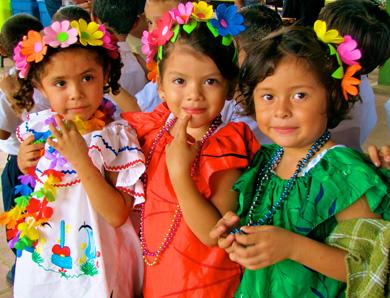 Nicaraguan girls