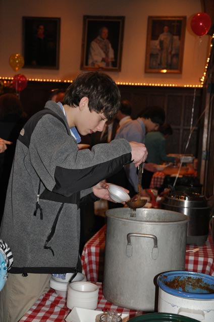 Chili cookoff at the annual meeting