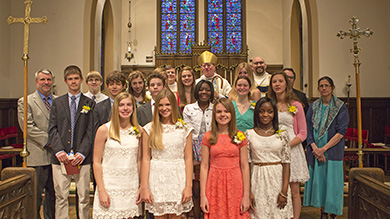 Confirmation class of 2013