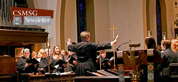 Rob Lehman and the CSMSG choir
