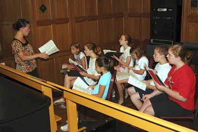 Summer chorister campers