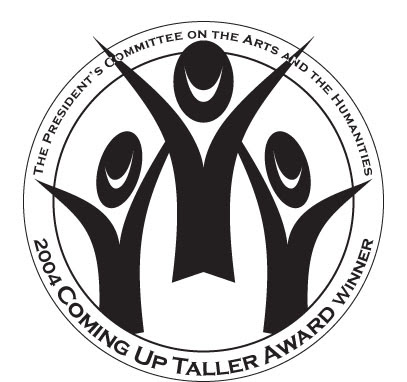logo for President_s Committee on Arts and the Humanities 2004 Coming Up Taller Award