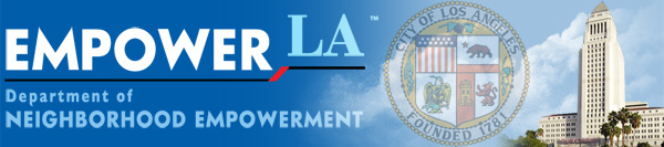 Empower LA Newsletter header