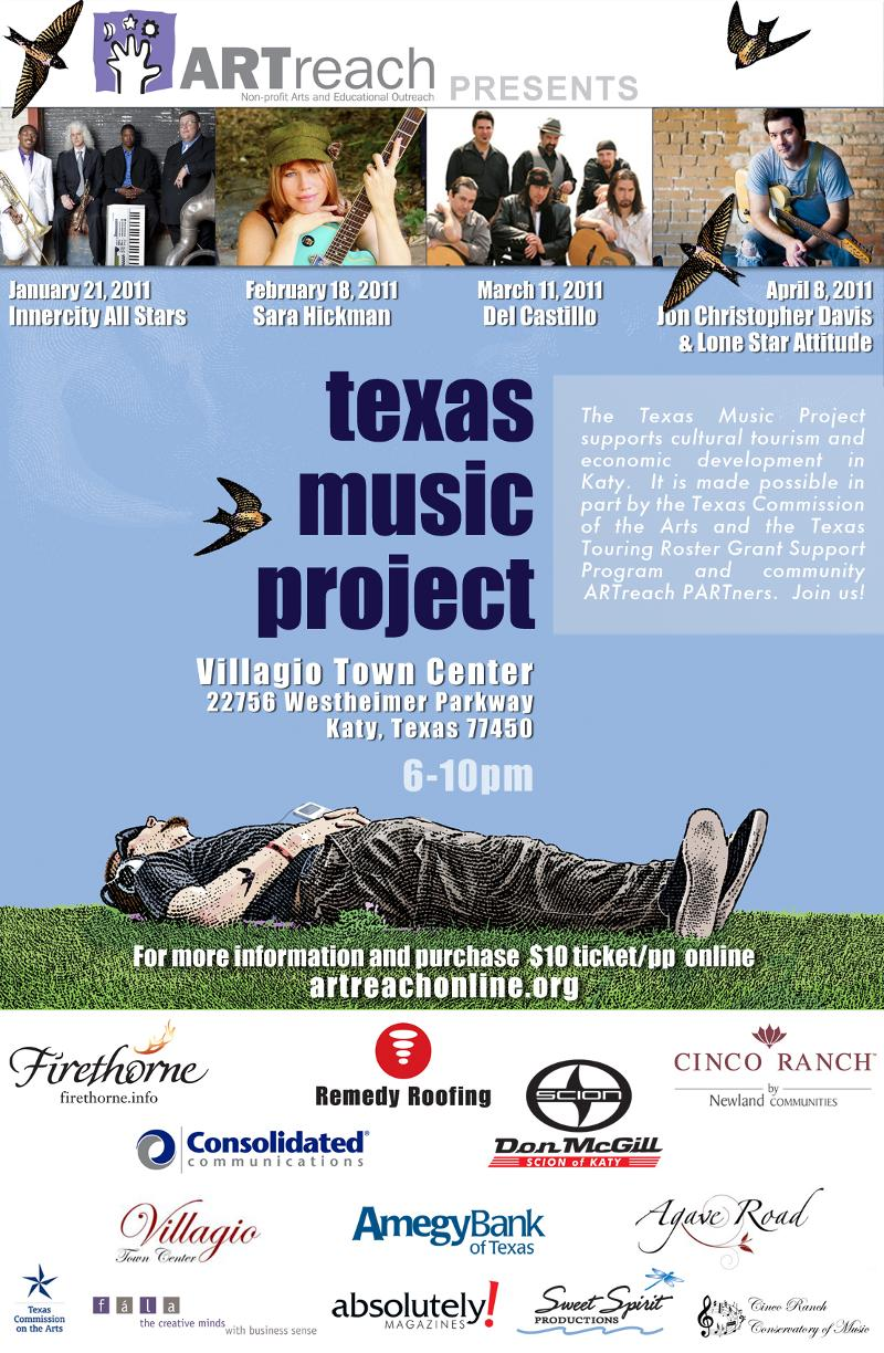 Texas Music Project Spring 2011