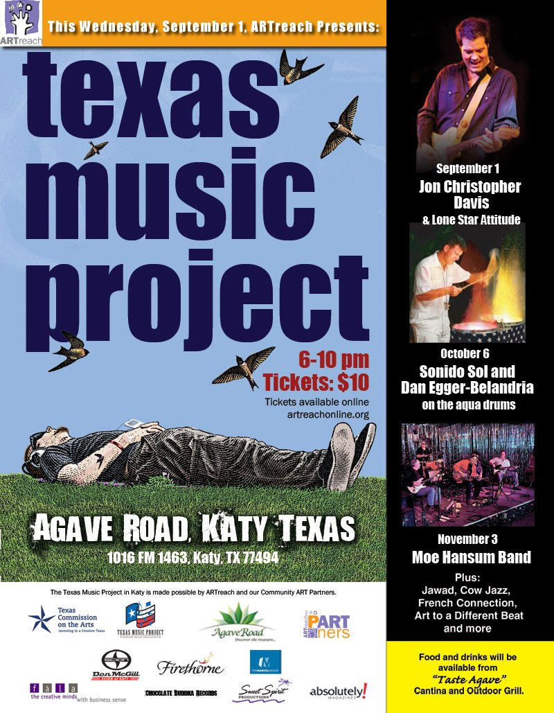 Texas Music Project Sept 2010