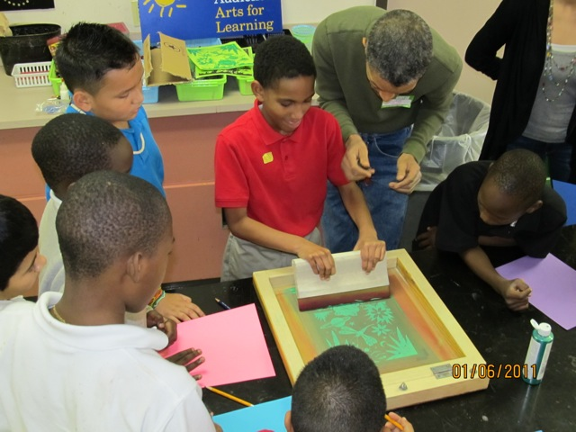 Mentoring through Art
