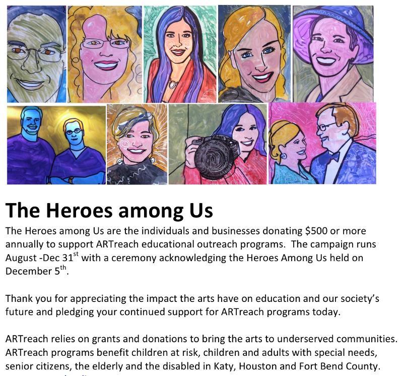 The Heroes among Us