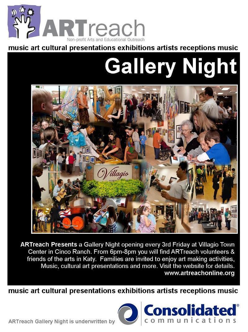 Gallery Night Poster
