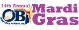 14th Annual Mardi Gras Logo