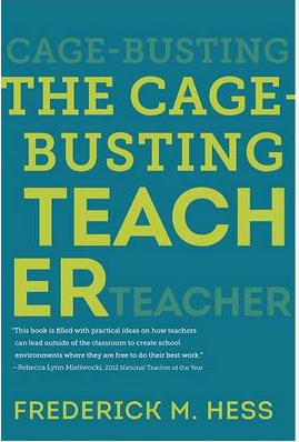 The Cage-Busting Teacher Book Cover