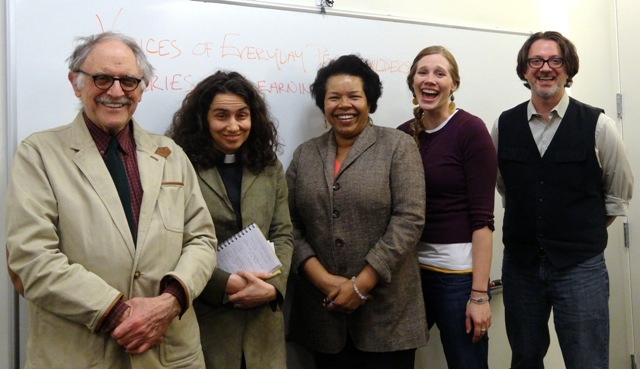 Joel Kovel, Chloe Breyer, Nitza Escalera (Pasos Peace Museum), Morea Steinhauer, Tony Jenkins