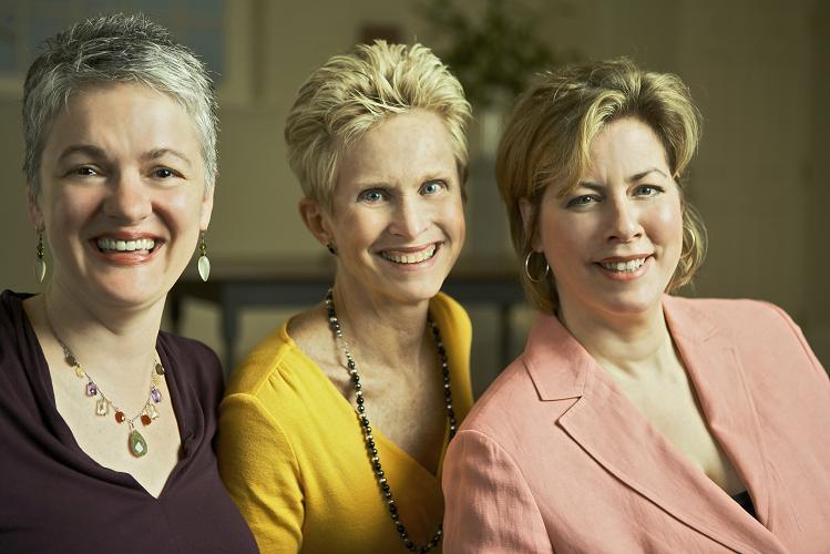 Lyric Fest founders: Laura Ward, Randi Marrazzo, Suzanne DuPlantis