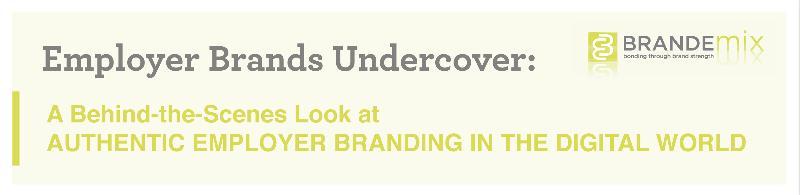 Employer Brands Undercover headline