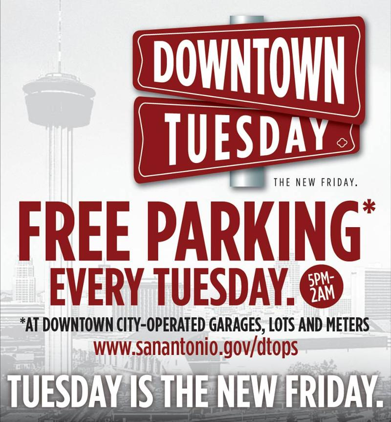 Downtown Tuesday 5pm