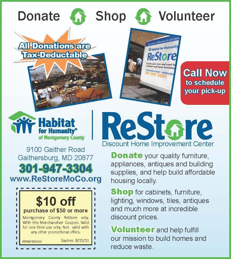 ReStore Donations Ad