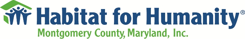 Habitat for Humanity of Montgomery County, Maryland, Inc.
