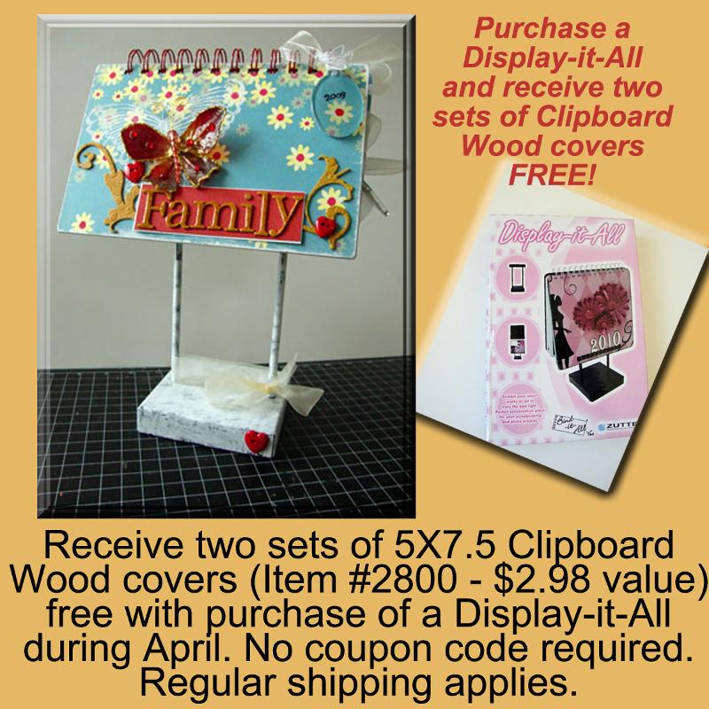 Display-it-All April Special