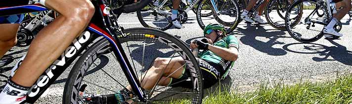 Runover at Tour de France