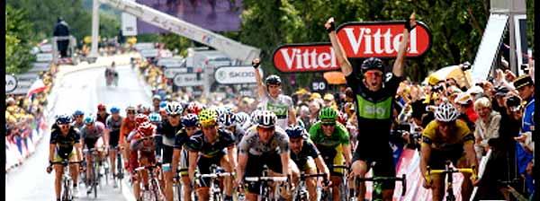 Ultimate Victory Celebration at Tour de France