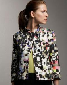 spring 2010 fashion, print jacket