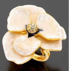 petal ring, spring fashion update, spring updates, fashion update