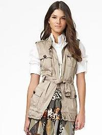 spring fashion, spring trends, DVF vest