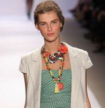 spring fashion, spring trends, beaded necklaces