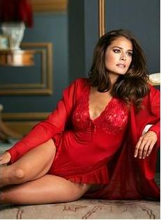 lingerie for women over 40, Red teddy