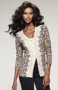 Speg Leopard cardigan, spring 2010