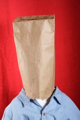 Bag over head