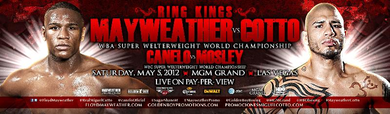 Mayweather/Cotto Press Conference Letterhead