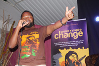 Briggs Bomba at Create, Inspire, Change
