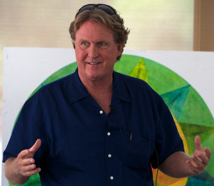 Ed Bastian teaching