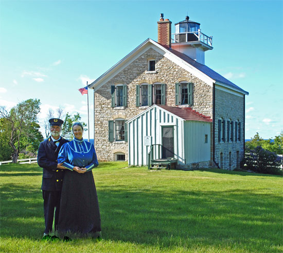 Pottawatomie Lighthouse Docents 2012