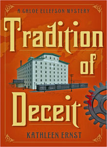 Cover of Tradition of Deceit, the fifth Chloe Ellefson mystery by Kathleen