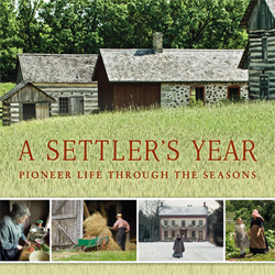 Front cover of A Settlers Year by bestselling author Kathleen Ernst