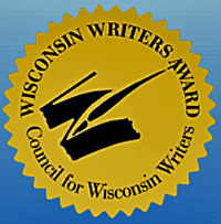 Award seal of the Council for Wisconsin Writers.