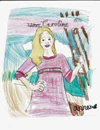 Drawing of Caroline Abbott by Annabella.