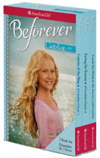 Photo of the American Girl Caroline 3 Book Box Set written by Kathleen Ernst