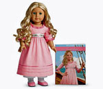 The Caroline Abbott doll and Meet Caroline book combination, winner of 2012 Mom's Choice Gold Awared for Ages 8+.