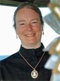 Kathleen Ernst at Pottawatomie Lighthouse 2012