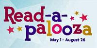 Logo of American Girl Read-a-palooza program.