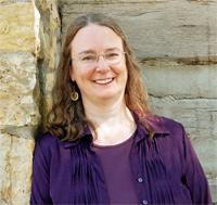 Photo of Kathleen Ernst taken by Kay Klubertanz.