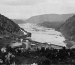 Harpers Ferry 1863 credit Library of Congress.