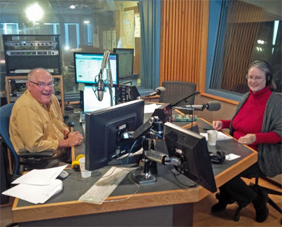 Author Kathleen Ernst on WPR's The Larry Meiller Show 22 October 2013