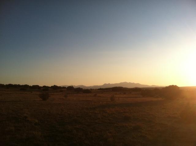 Prairie Dog Sunset